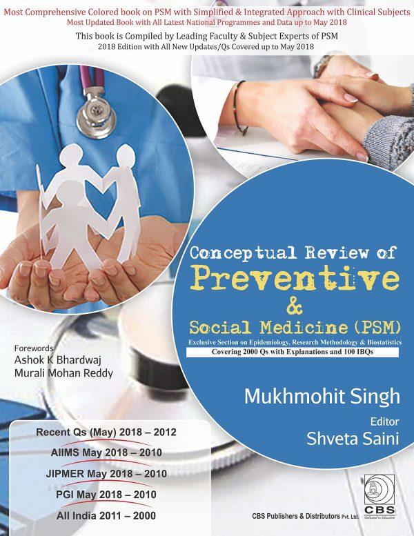 DR Mukhmohit PSM Book