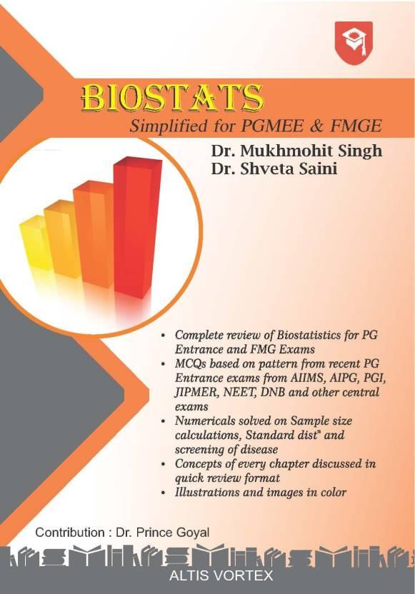 Biostats book by Dr Mukhmohit